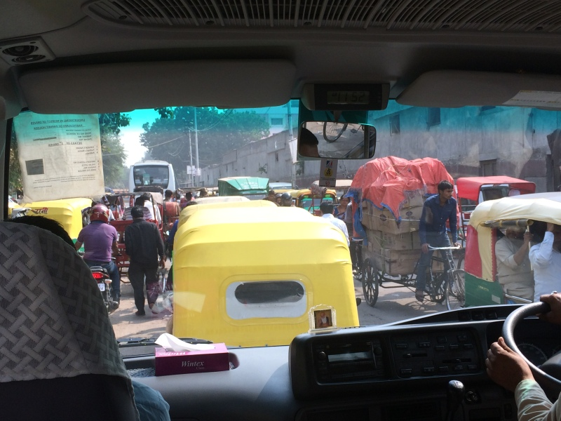 traffic inside