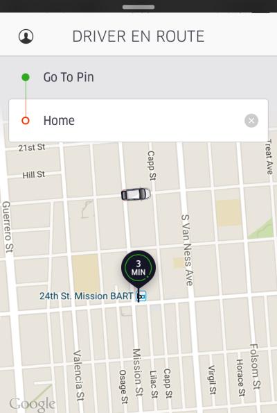 uber call driver